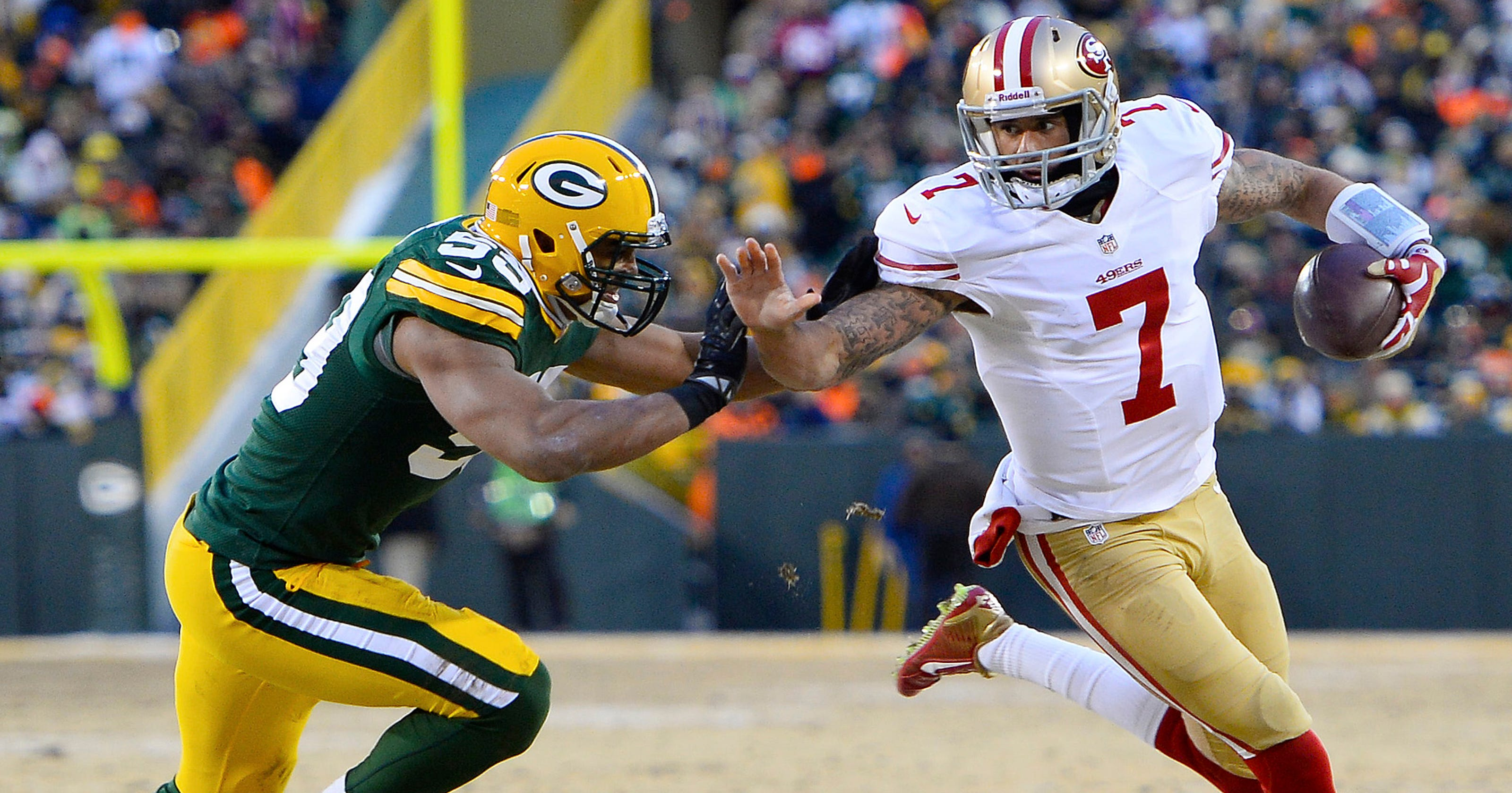 a0f174ab86e 49ers freeze out Packers with field goal at the gun