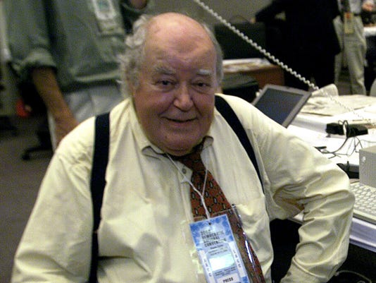 Legendary political reporter Jack Germond dies at age 85