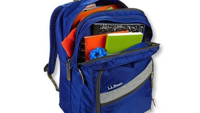 The new policy at Ionia Middle School requires that backpacks be kept inside lockers and not to be carried during the school day.