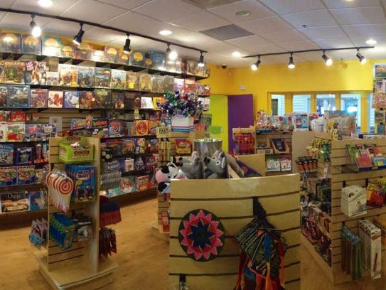 Genuine Toy Co. is located in downtown Plymouth
