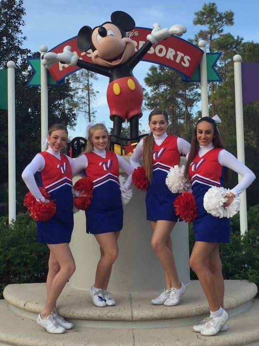 Cheerleaders in Orlando