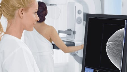 Newest mammogram technology available at UHS Breast Center.