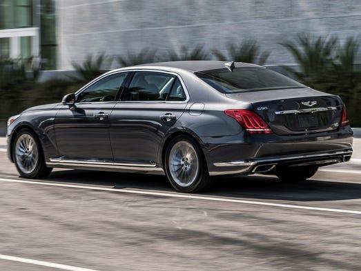 Five reasons to love the Genesis G90 luxury sedan