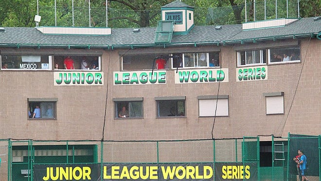 Northwood defeated Midland, Michigan, 8-2 in its opening game of the Junior League World Series Sunday night at Heritage Park in Taylor, Michigan.