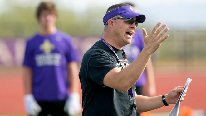 Former Notre Dame Prep head coach Mark Nolan will be Chaparral's new defensive coordinator.