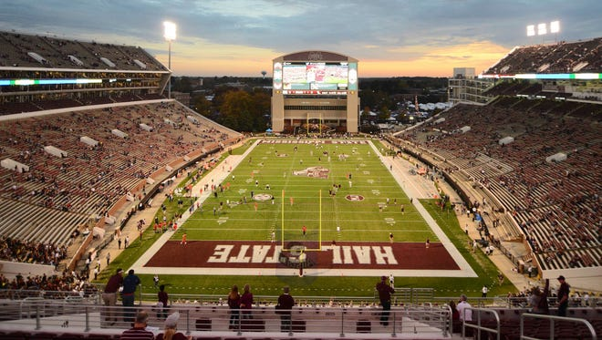 A clear bag policy will be introduced at Davis Wade Stadium this year.