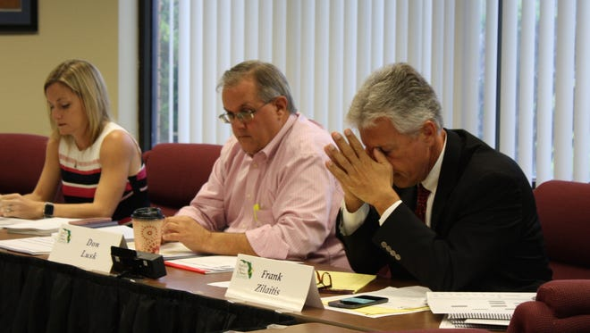 There have been tense moments at recent meetings to discuss creating an internal audit department for Brevard Public Schools. Audit committee member Frank Zilaitis, right, and other members of the committee have previously spoken against the idea. However, at the latest meeting, they were open to hearing more at an upcoming workshop.