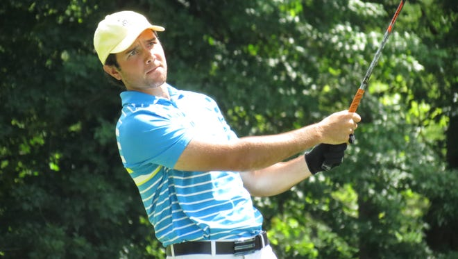 """Haworth's Thomas La Morte broke par during the first round of the MGA """"Ike"""" Stroke Play despite a """"rough day on the greens."""""""