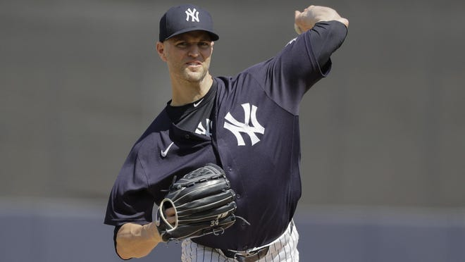 J.A. Happ, who was relegated to the bullpen in the postseason last year, is an important piece to the Yankees' rotation this season.