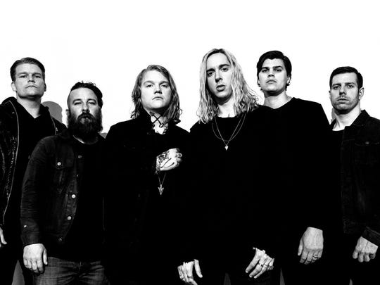 Underoath with Dance Gavin Dance, Veil of Maya, & Limbs perform at 6 p.m. Tuesday, May 22 at Concrete Street Amphitheater.