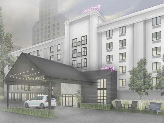 Summit Management Corp. will convert Sleep Inn Court Square into a Moxy Hotel by Marriott International.