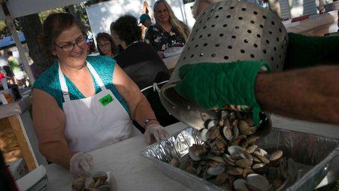 The Sebastian Clambake last November in Sebastian earned $64,900 in proceeds to be shared with local nonprofit organizations.