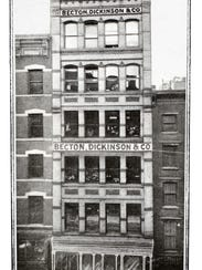 Becton Dickinson, original NYC office