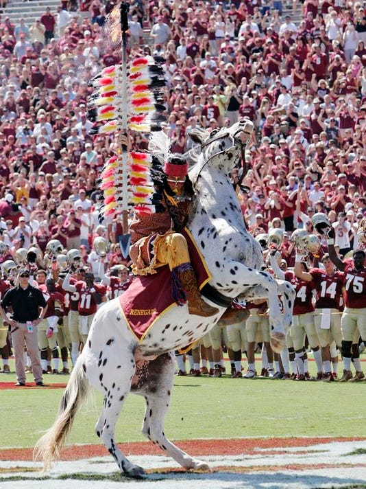 BCS Seminoles Mascot Football