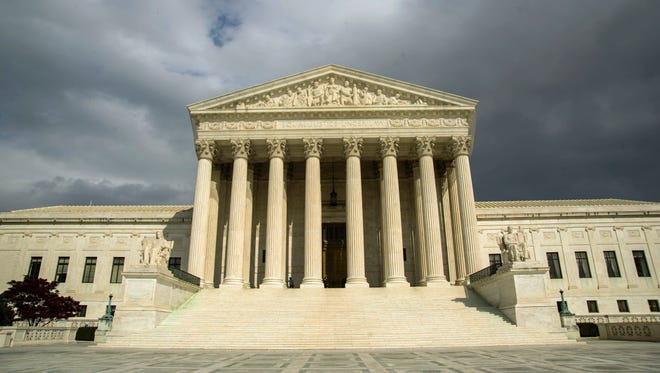 The  U.S. Supreme Court Building in Washington, DC.