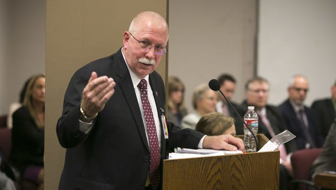 """Charles Ryan, director of the Arizona Department of Corrections, was rebuked by a federal magistrate judge for referring to a courtorder as """"disappointing"""" and """"preconceived"""" in a memo sent to prison staff."""