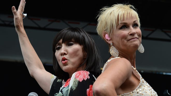Pam Tillis and Lorrie Morgan will perform on the Chevrolet Riverfront Stage at the 2014 CMA Music Festival in Nashville June 5-8.