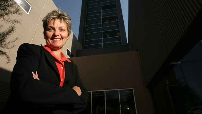 No. 1 largest employe, ranked by Arizona employees: Banner Health | Highest ranking woman (one of two): Kathy Bollinger, executive vice president for academic delivery