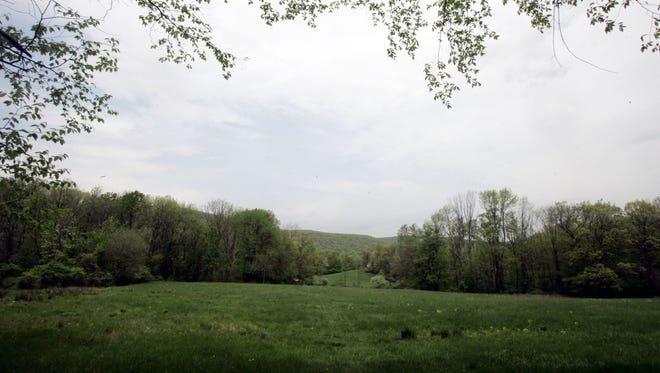 The builders of the proposed 496-unit Patrick Farm housing development owe Rockland more than $607,000 in taxes on the 208-acre property outside Pomona, officials said. Patrick Farm is seen in 2009.