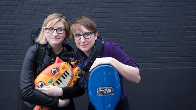 What do you get when you combine a meowing cat keyboard with a cello? Find out during a free, all-ages concert with The Doubleclicks 7 p.m. Friday, May 6, in Loucks Auditorium at the Salem Public Library, 585 Liberty St. SE.
