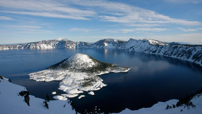 Officials at Crater Lake are warning visitors to leave the drones at home.