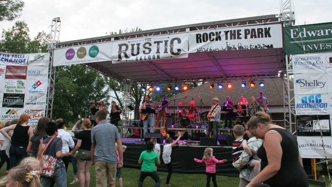 A free outdoor concert with LaVerne and the Starlights begins at 6 p.m. June 28 as part of Rock the Park.