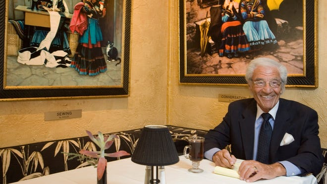 Mel Haber, owner of Melvyn's Restaurant at the Ingleside Inn, on July 24, 2012.