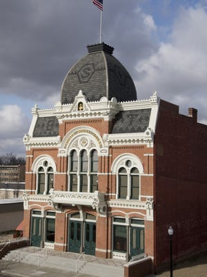"""At the Tibbits Opera House and Theatre in Coldwater, the new tagline is   """"Conquering Covid One Show at a Time."""""""