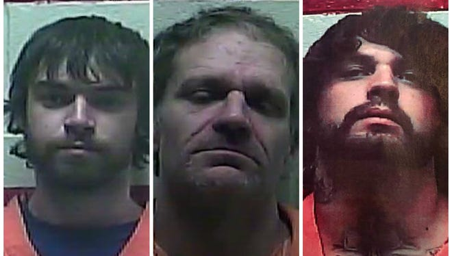 These three inmates have escaped and authorities are looking for them in Simpson County