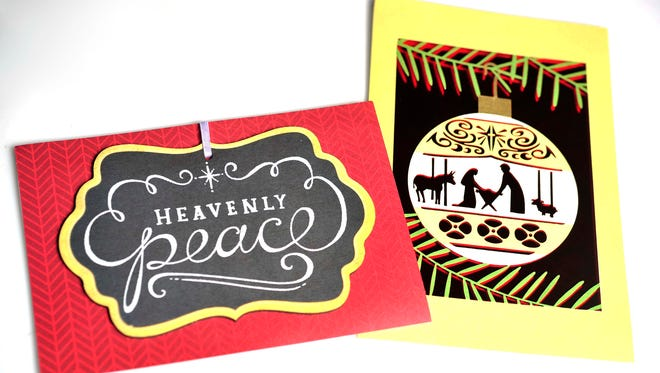 LifeWay Christian Store on Broadway sells religious Christmas cards.