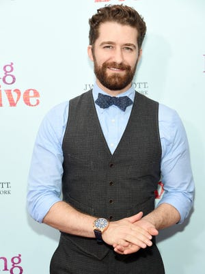 "Matthew Morrison attends the New York premiere of ""Learning To Drive"" at The Paris Theatre on Aug. 17 in New York City."