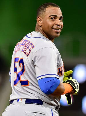 Yoenis Cespedes led the New York Mets with 31 homers and 86 RBI in 2016.