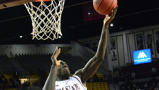 New Mexico State's Pascal Siakam entered Friday second in the nation in scoring (27 points per game) and 12th in rebounds (11.8 per game).