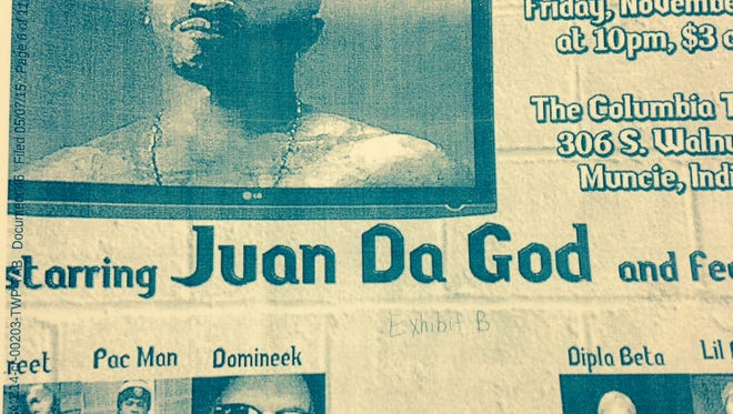 Djuane McPhaul is also known as hip-hop artist Juan Da god.