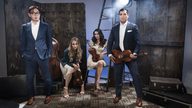 The Dallas String Quartet doesn't limit itself to classical music, venturing into classic rock, jazz and other genres. The group will perform Jan. 12 at Akin Auditorium.