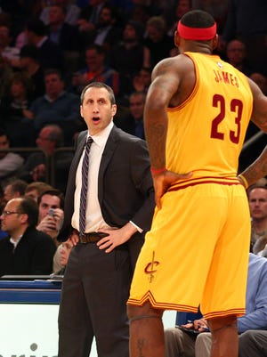First-year coach David Blatt and LeBron James have struggled at times to mesh in Cleveland.