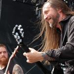 In Flames storms the Vinyl stage Monday