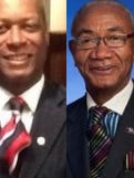 Jackson City Councilman Ernest Brooks II, left, and Rep. Johnny Shaw are competing in the state House District 80 Democratic primary.