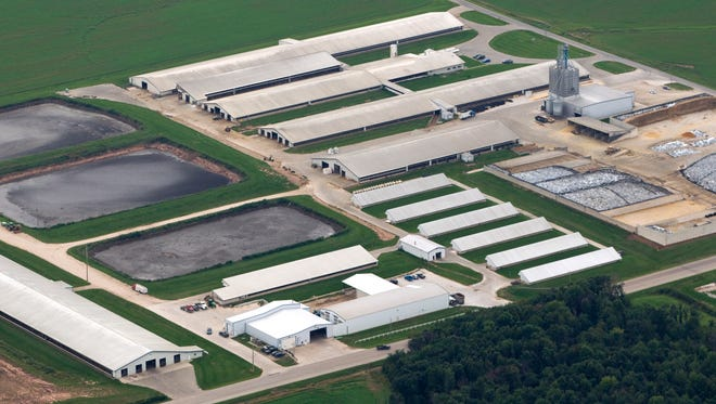 Gov. Scott Walker's budget calls for a study of moving regulatory authority of large farms from the Department of Natural Resources to the Department of Agriculture, Trade and Consumer Protection.