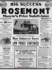This is an advertisement appearing May 26, 1923 in