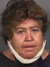 Candelaria Castillo is accused of being under the influence of alcohol when she crashed her car, killing her husband in Coachella.