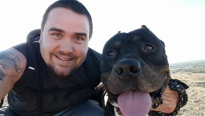 Michael Guilliatt surrounded his pet pit bull Rosko because he was relocating to Oregon and struggled to find housing that would accommodate a pit bull. However, after finding a place that's allowing Rosko to stay, Wings of Rescue is flying Rosko to Oregon to reunite them.