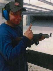Khalil Abu-Rayyan of Dearborn Heights, at a shooting
