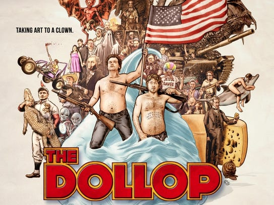"""""""The Dollop"""" podcast has been riffing on stories from"""