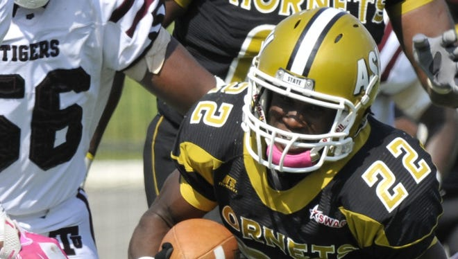 After playing behind Isaiah Crowell, Malcolm Cyrus is looking forward to being the featured back at Alabama State.