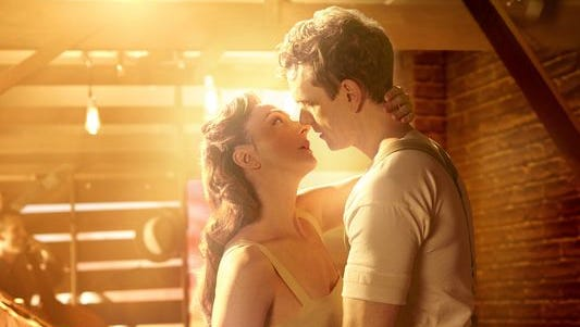 """Carmen Cusack and Paul Alexander Nolan play young lovers in the 1920s South in """"Bright Star,"""" the new Broadway musical by Steve Martin and Edie Brickell."""