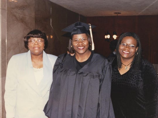 The Hackneys: Mother Lillian (from left) and daughters Sonya and Suzette.