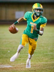 The Coachella Valley varsity football team won Friday's home playoff game against Ramona by a score of 45-7. This is the first home football playoff game for the Arabs since 1988.