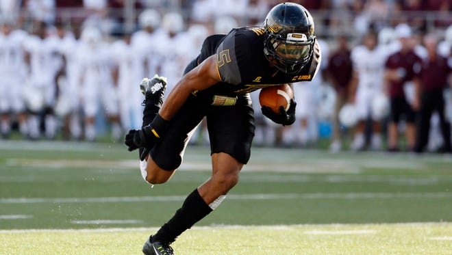 Southern Miss wide receiver D.J. Thompson collected six touchdown grabs as a junior in 2015.