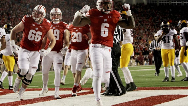 Corey Clement and the Wisconsin Badgers will meet Penn State in the Big Ten title game Saturday in Indianapolis.
